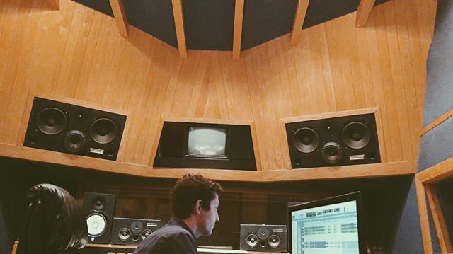 """Huge thank you to the man behind the sound board @mileshanson ✨ This guy is so damn talented. Not only did he record, engineer, edit and mix this record, he pushed us to make these songs the best they could be. Thank you Miles Hanson for helping us """"Get It Right"""". . . . . . . . #recording #record #soundengineer #mixing #lenaelizabeth  #singersongwriter #originalmusic #minneapolis #minnesota #mnmusic #mplsmusic #lenaelizabeth #womenthatrock #femalemusican #womeninmusic #ukulele #livemusic #recording #albumrelease #newmusic #newmusicalert #songwriting #songwriter #newalbum #staytuned #comingsoon"""