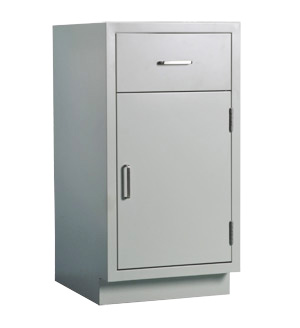 Cabinet, base, 24 in. one-drawer, one-door, shadow - TSL2435AB-SSAA (130lbs) $594