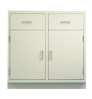 Cabinet, base, 35Lx35Hx22D, 2 drawer / 2 door, shadow - TSL3535DD-SSAA (135lbs) $630