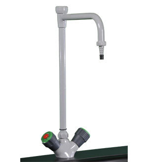 Hot / Cold Mixing Faucet w/ Vacuum Breaker, epoxy coated - TSL21406EVB-HC (10lbs) $230