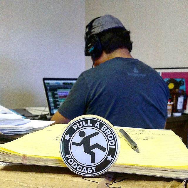 Work in progress... #PullaBrodi #Podcast #moreepisodes #workinghard #itsallgoodep #Editing #Audio #Studio
