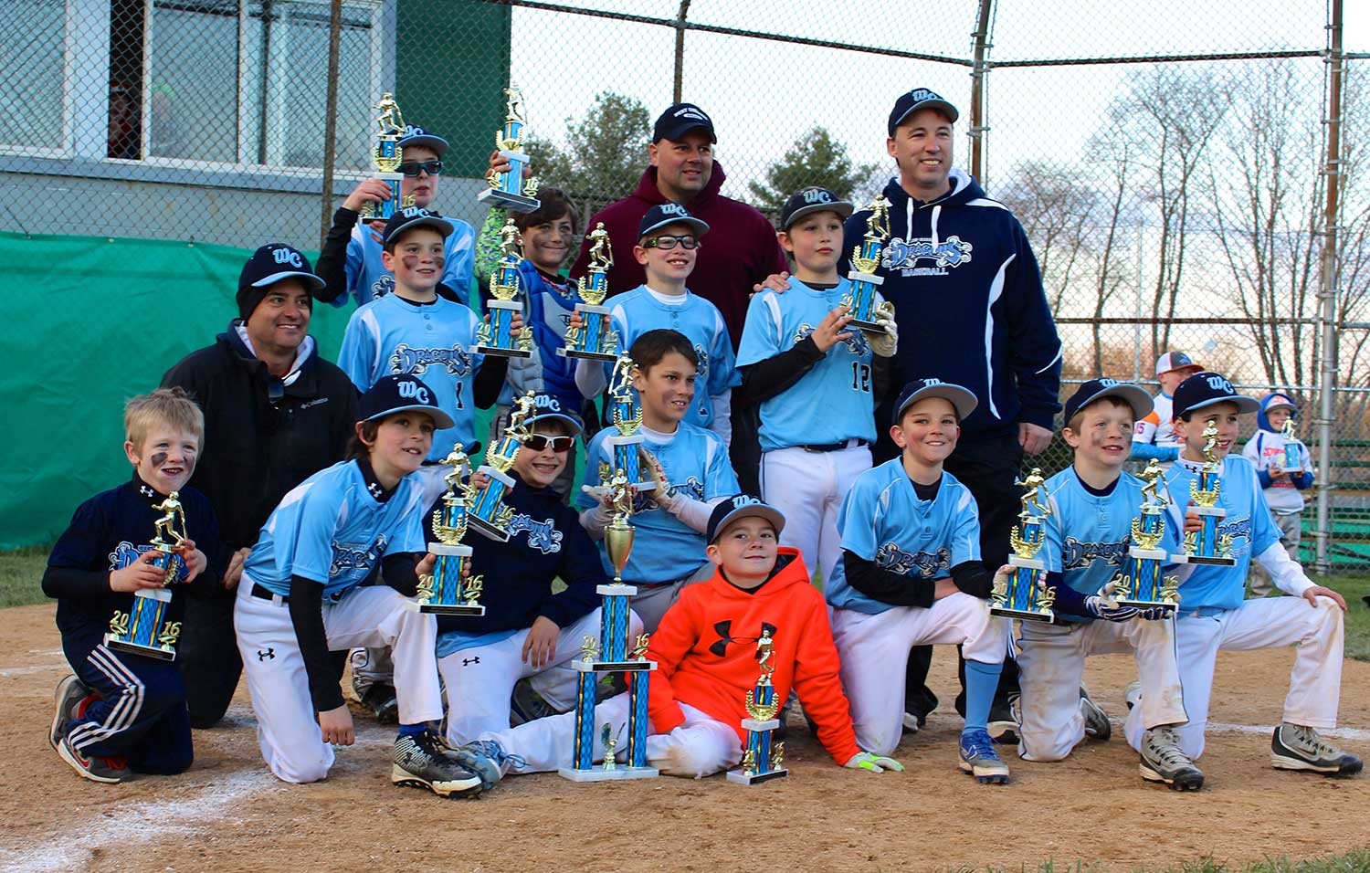 9U West Chester Dragons win NELL Spring Kickoff 2016