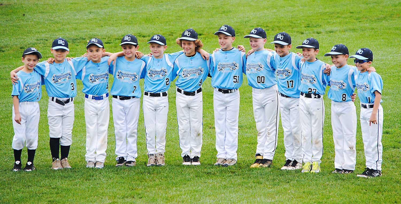 9U West Chester Dragons NL baseball team