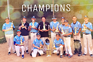 12U West Chester Dragons NL win Avon Grove Fall Slam 2016
