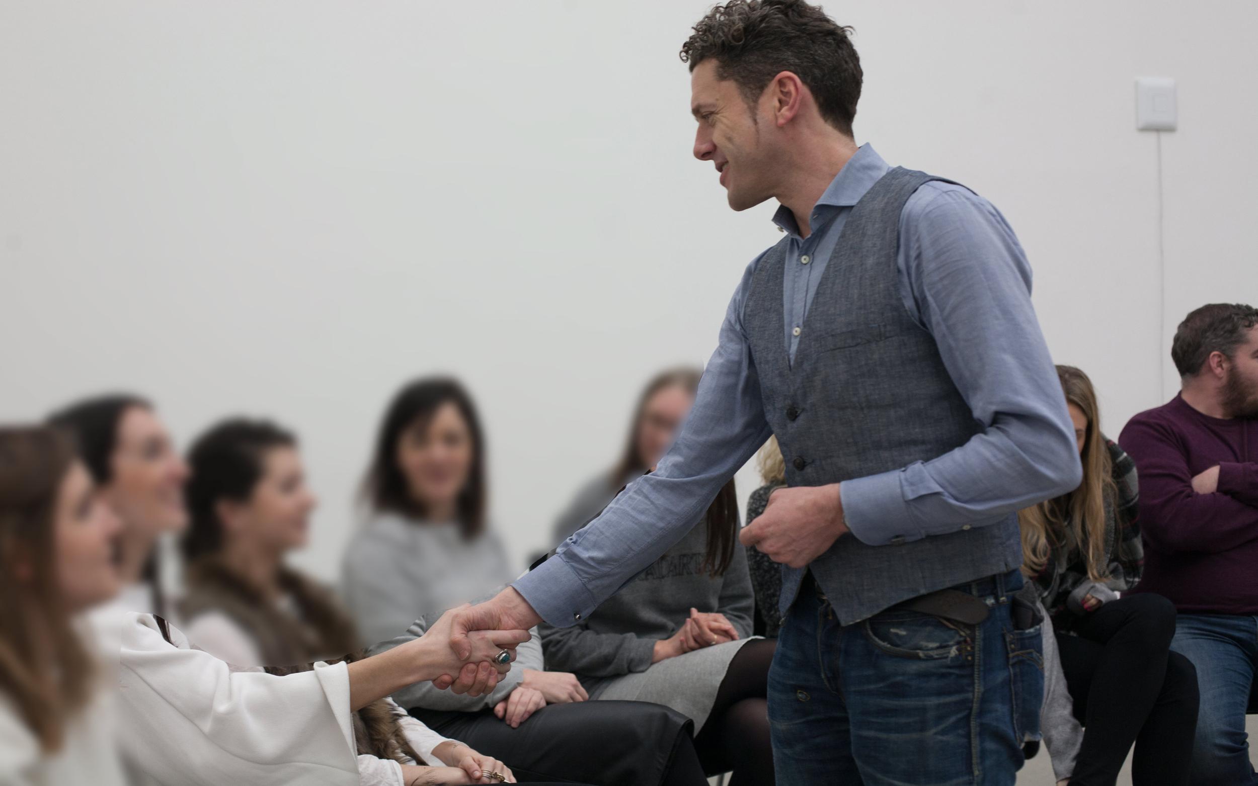 AJ Bicât teaches mindfulness and emotional intelligence at lyst
