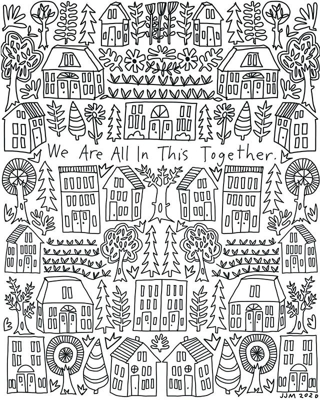 Free Coloring Pages For All Ages — Swallowfield