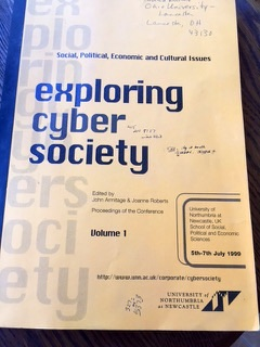 """""""Relationships In Everyday Life: Finding Love Online"""" ( Exploring Cybersociety  Conference, Newcastle, Uk, And Conference Proceedings, 1999)"""