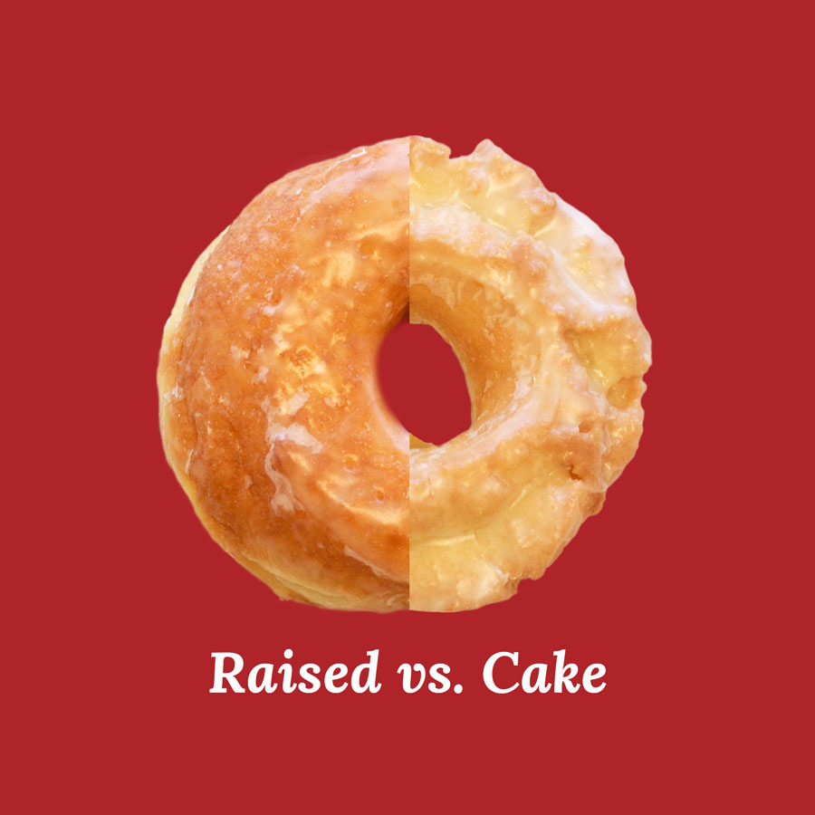 Raised-vs-Cake-Donut
