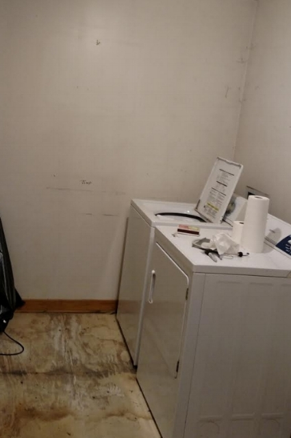 Before Photo of Mudroom