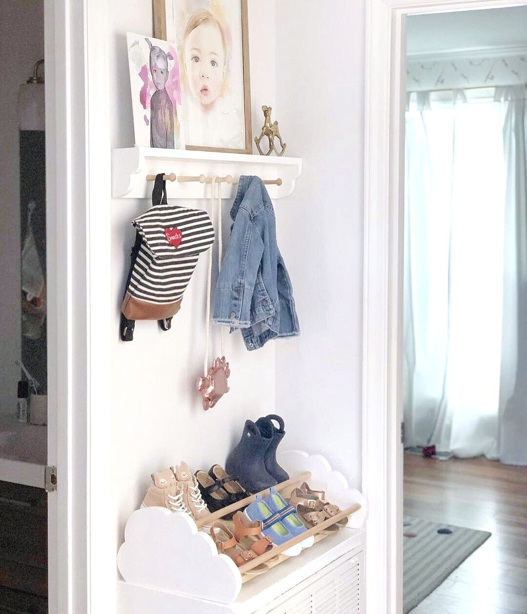Spruce Creative Studio Small Space Diy Kids Storage