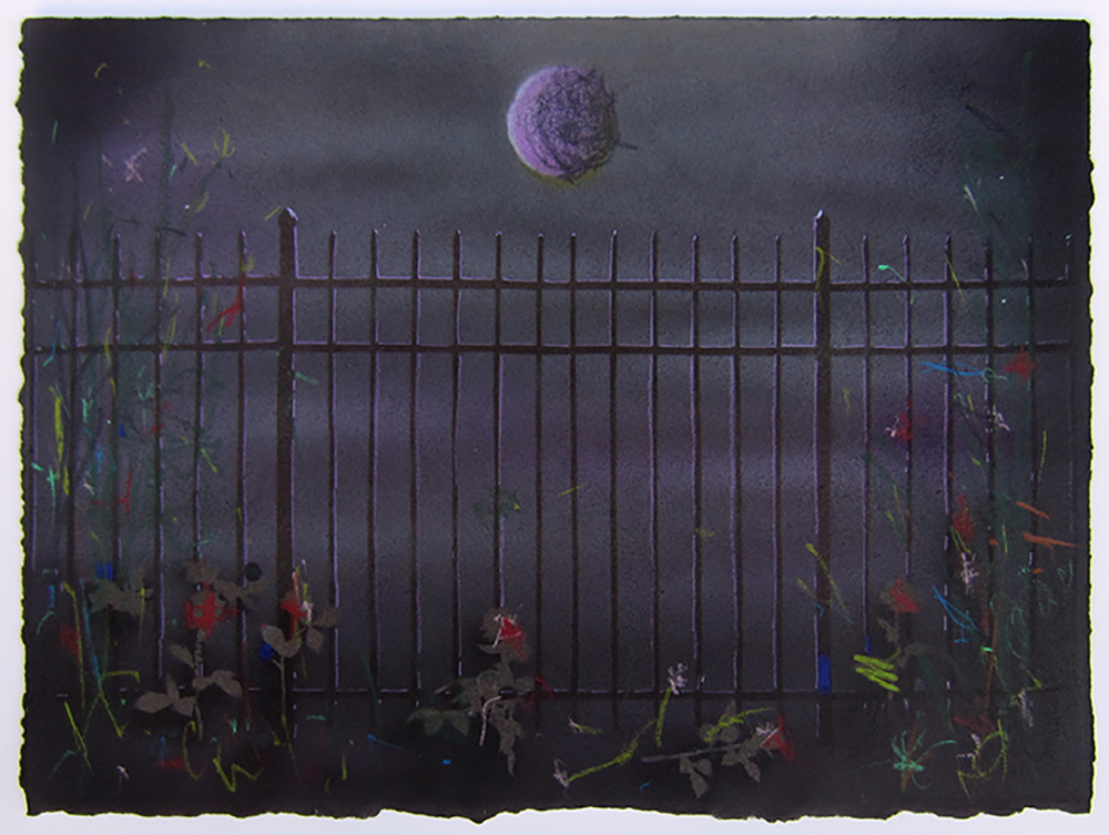 This Weird Fence: Purple Midnight