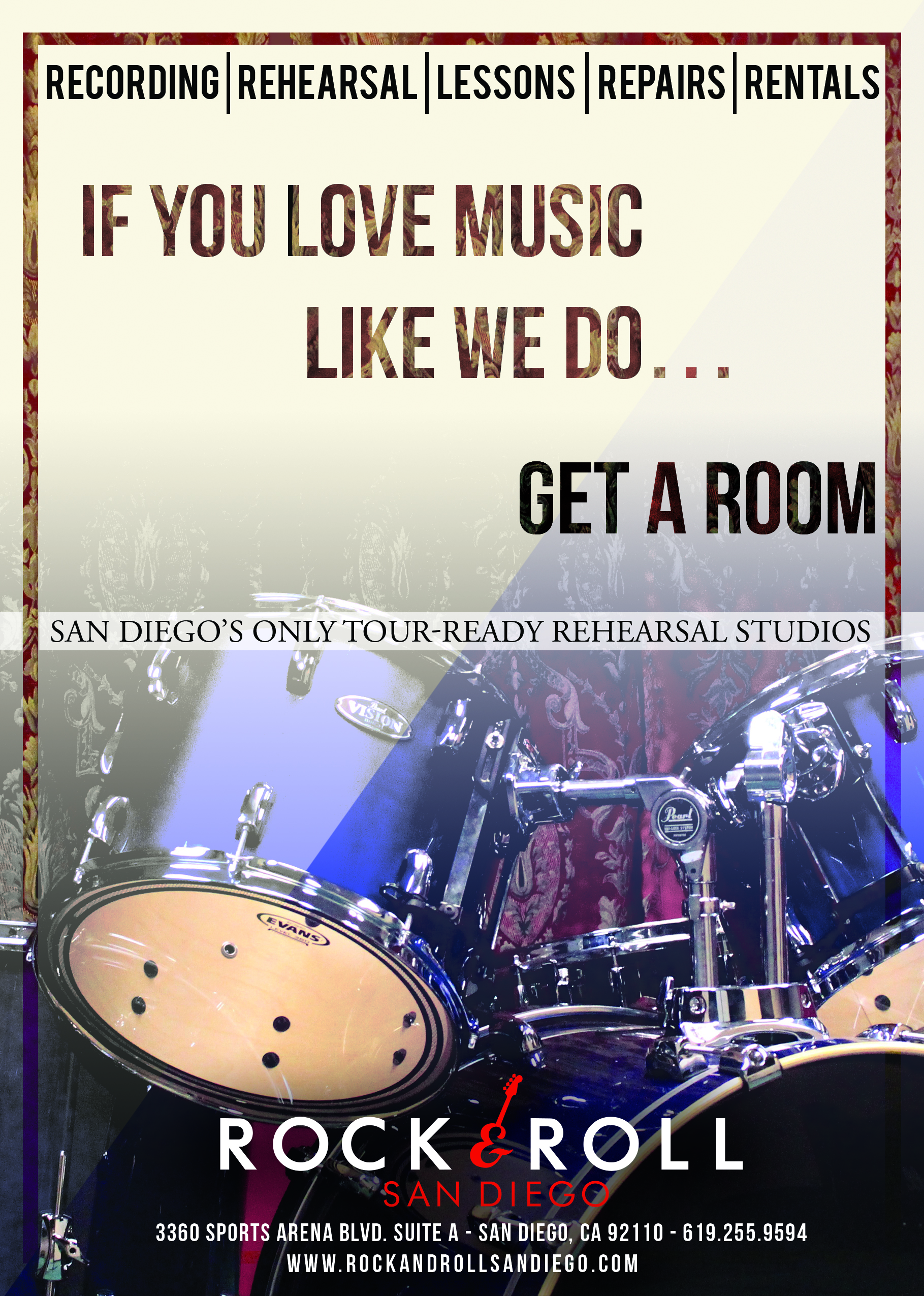 Rock and Roll San Diego Summer/Fall Ad