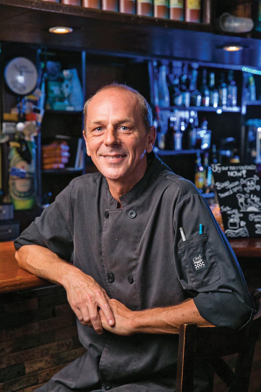 Harold van den Burg    Chef – Bingo! Café & Restaurant