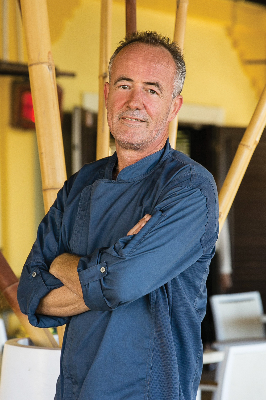 Ronald van Hasenbroek    Chef – Hadicurari Restaurant