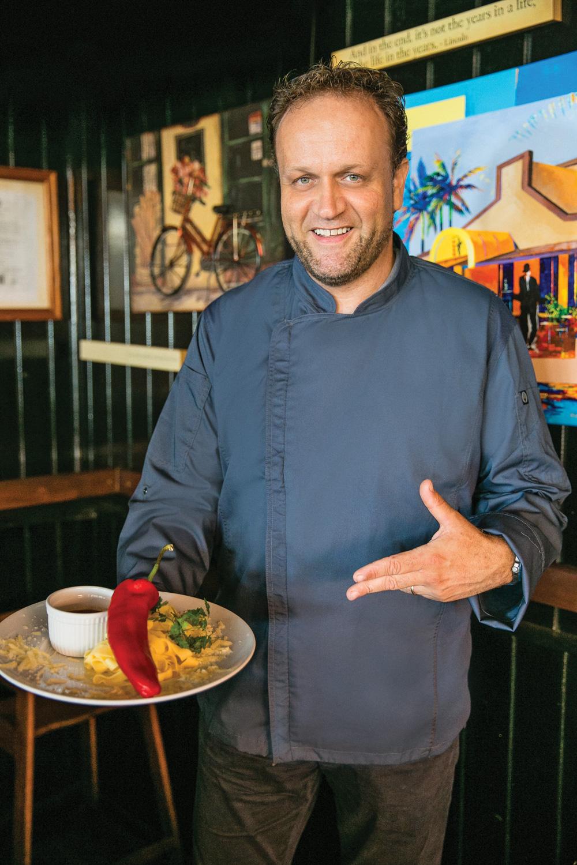 Ron van der Put   Chef – Café de Plaza
