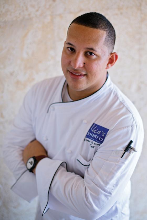 Ever de Peña    Chef – Ike's Bistro