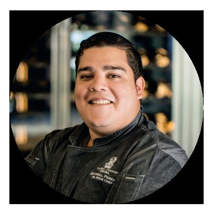 Mitchell Pereira   Junior Sous-chef