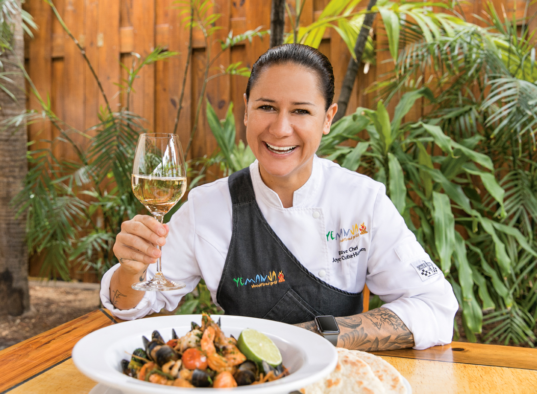 Aruba Restaurants | Chef Joyce de Cuba-Hüsken | Yemanja Woodfired Grill
