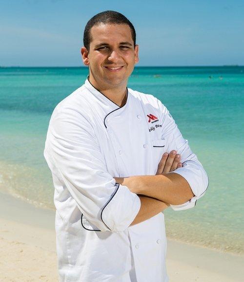 Teddy Bouroncle    Executive Chef – Aruba Marriott Resort & Stellaris Casino