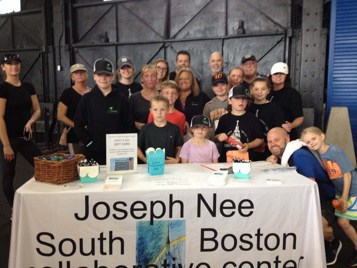Thank you to everyone who supported the Joe Nee South Boston Collaborative Center at the McCourt Boston Waterfront 5K Fitness event this weekend. A special thank you to the Nee Family!