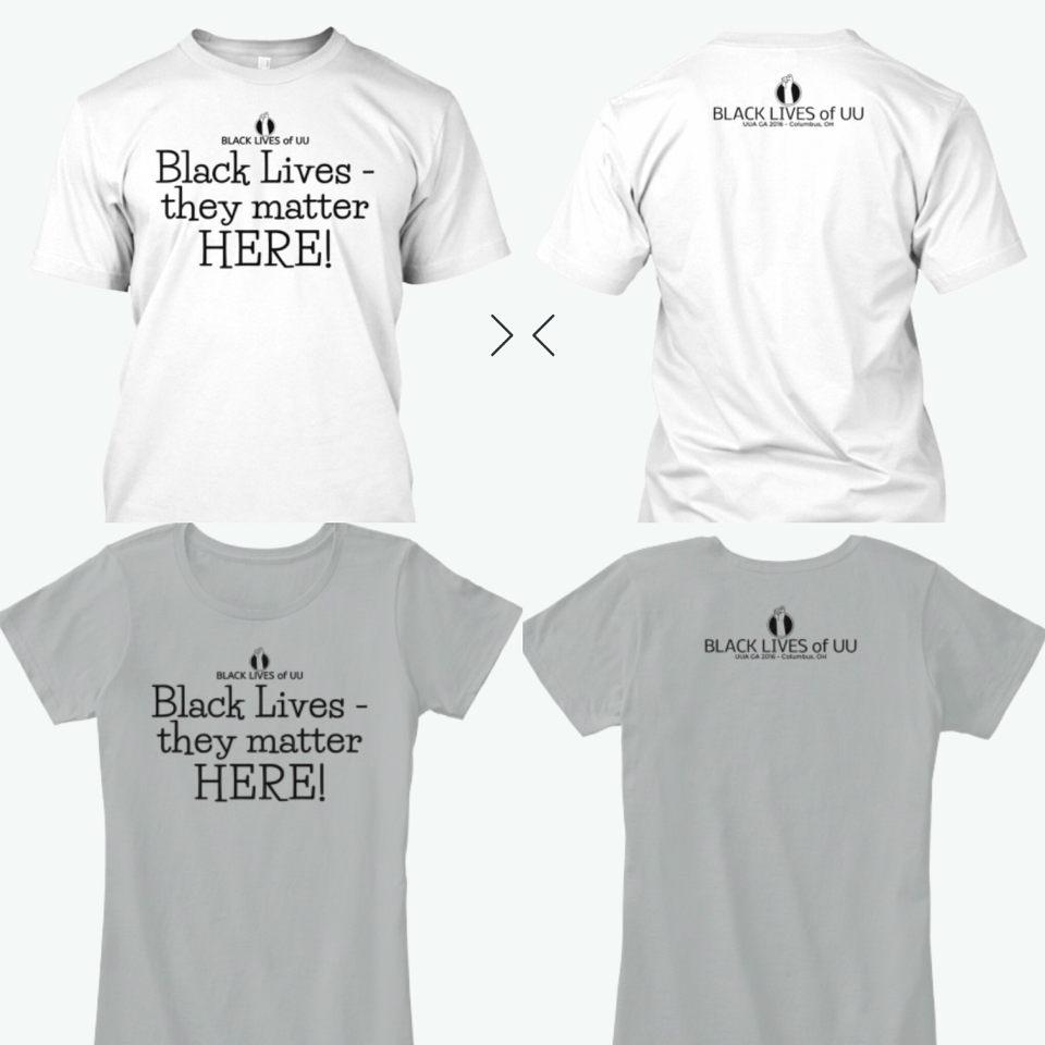 Black Design on Light Color Shirts