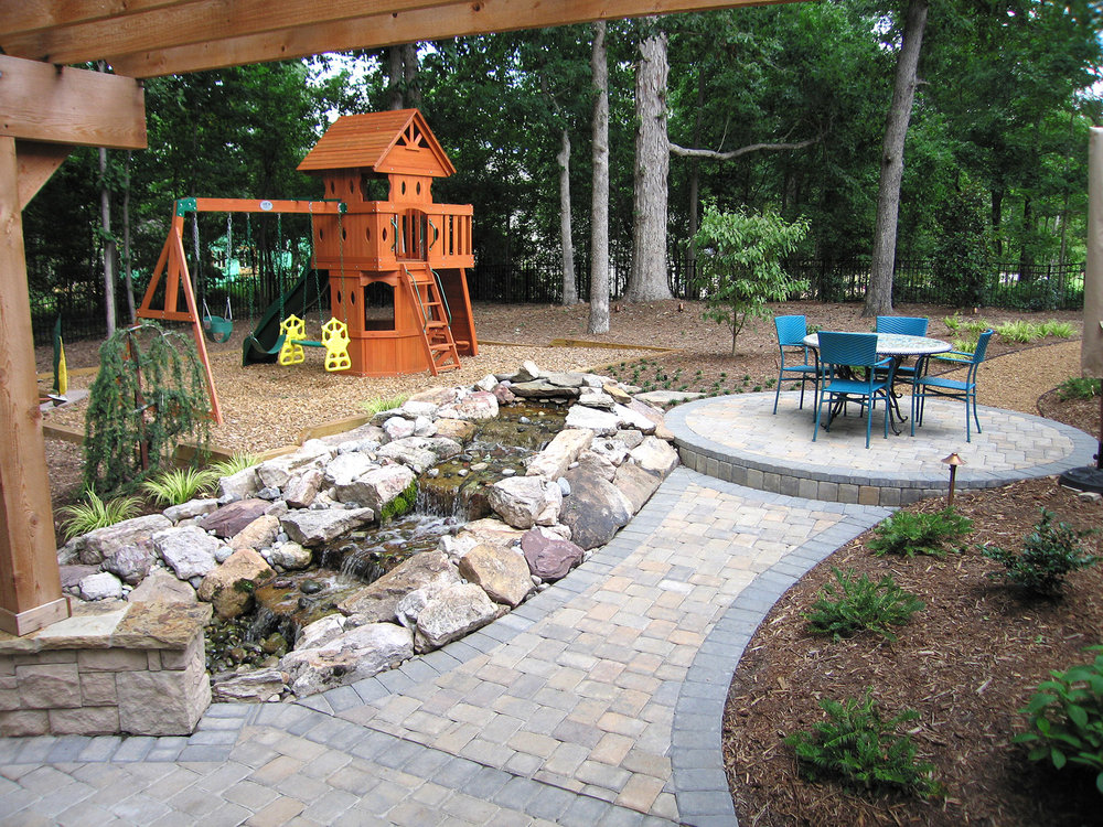 Ways To Refresh And Enhance Your Outdoor Patio Charlotte Landscaping Full Service Landscape Design And Installation The Whole Blooming Landscape