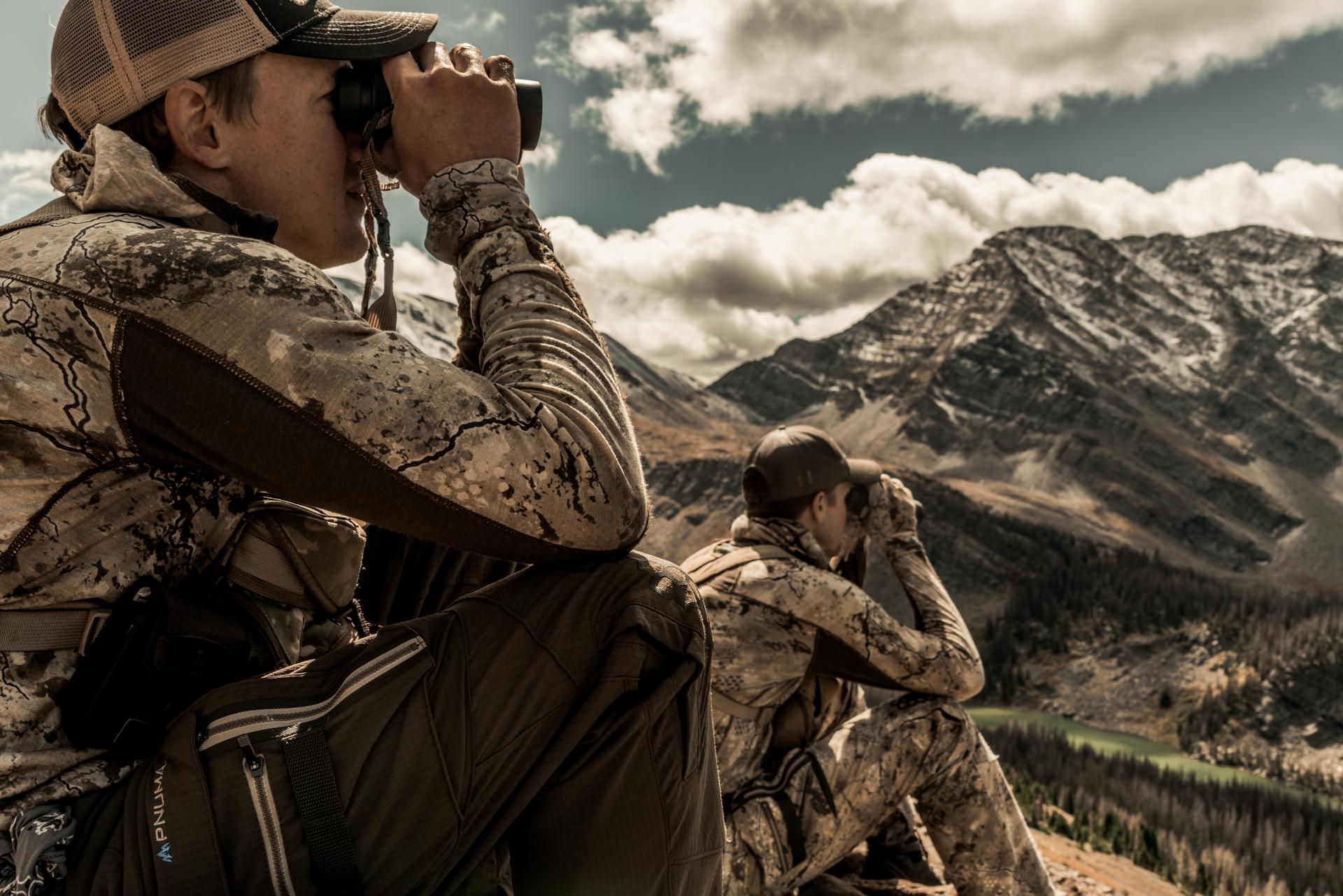 elk hunters scouting