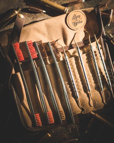 Sage & Braker Brush & Pick Tool Roll