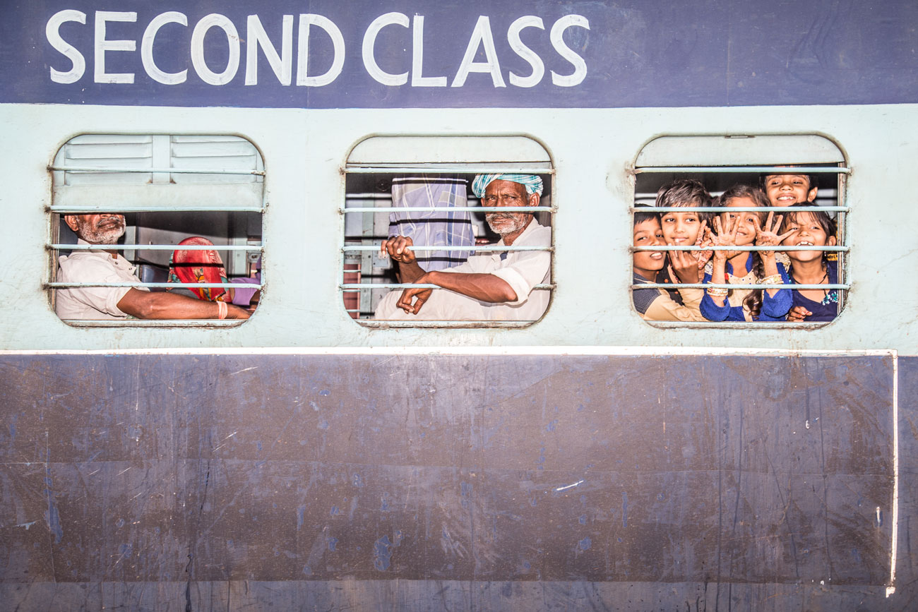 Second Class: Hari Pur station, India 2017  60x40cm edition of 5 $300usd  100x66cm edition of 9 $500usd