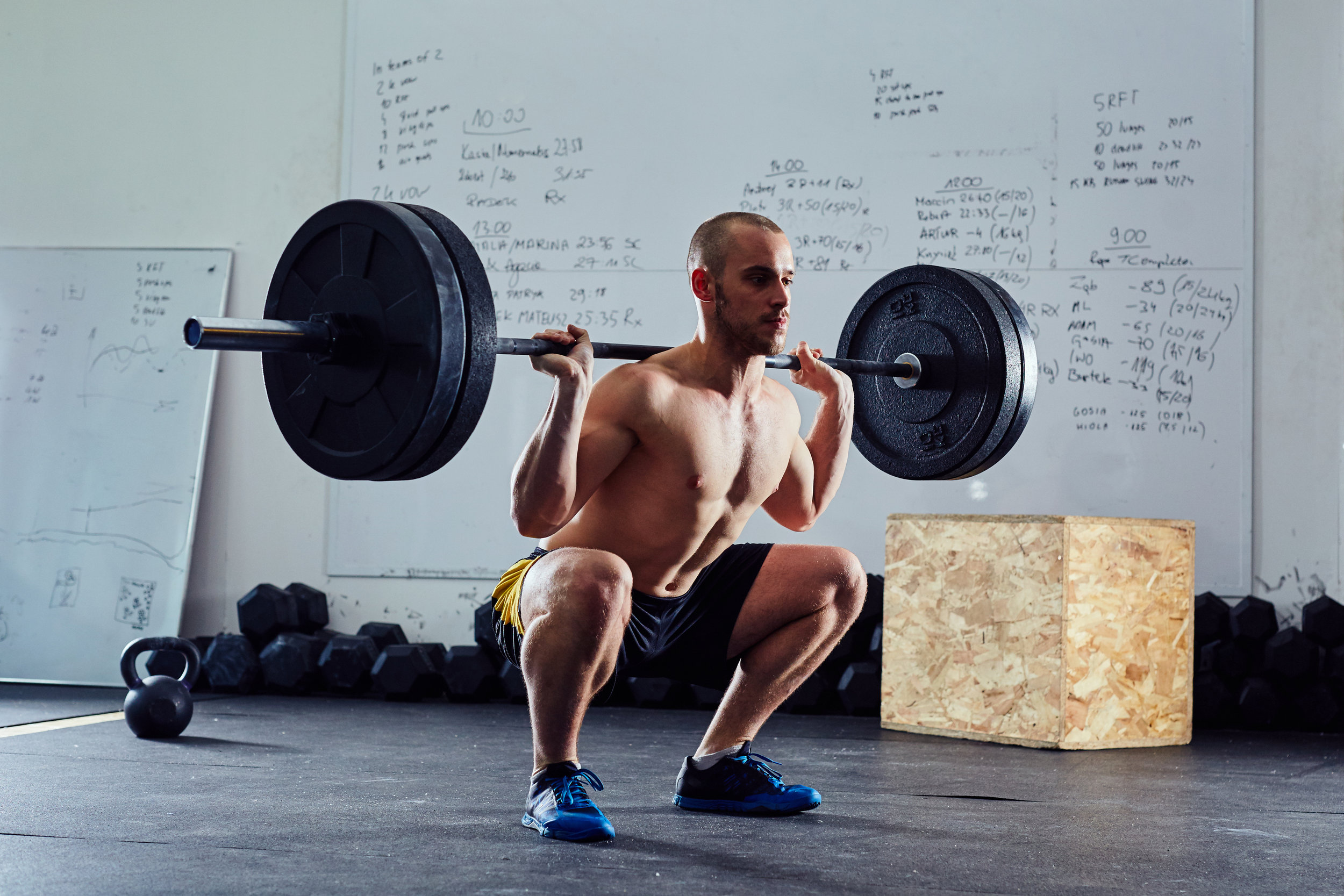 """Every time I squat deep or heavy, I get pinching in the front of my hips and groin...why is that?"""