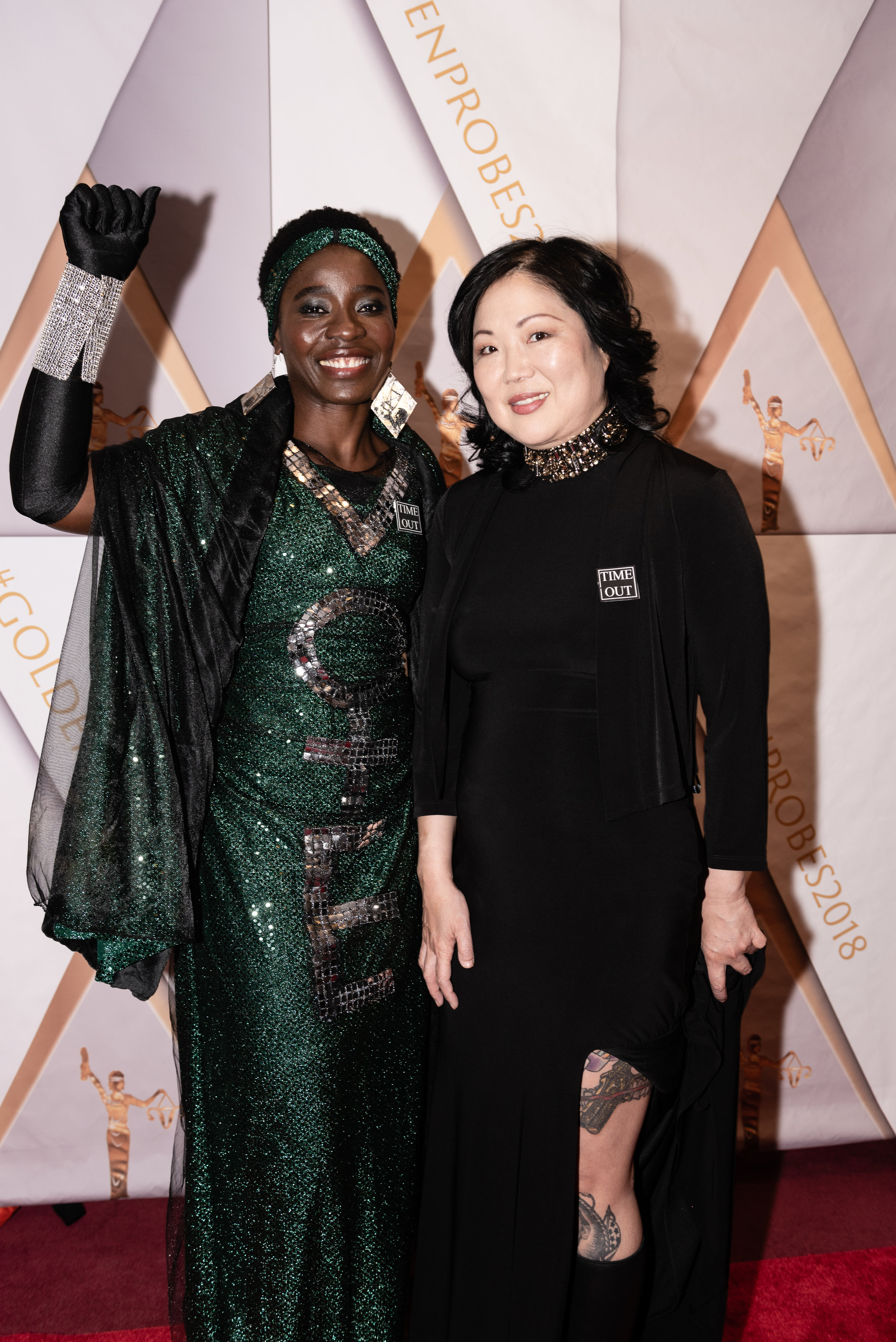 Patricia Okoumou, Margaret Cho