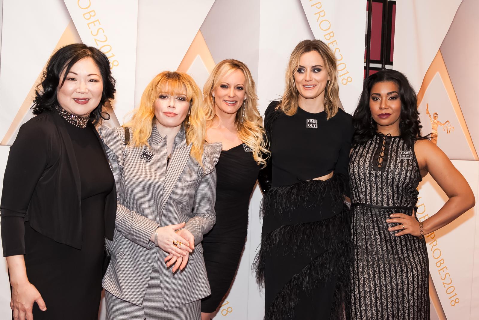 Margaret Cho, Natasha Lyonne, Stormy Daniels, Taylor Schilling, Jessica Pimentel