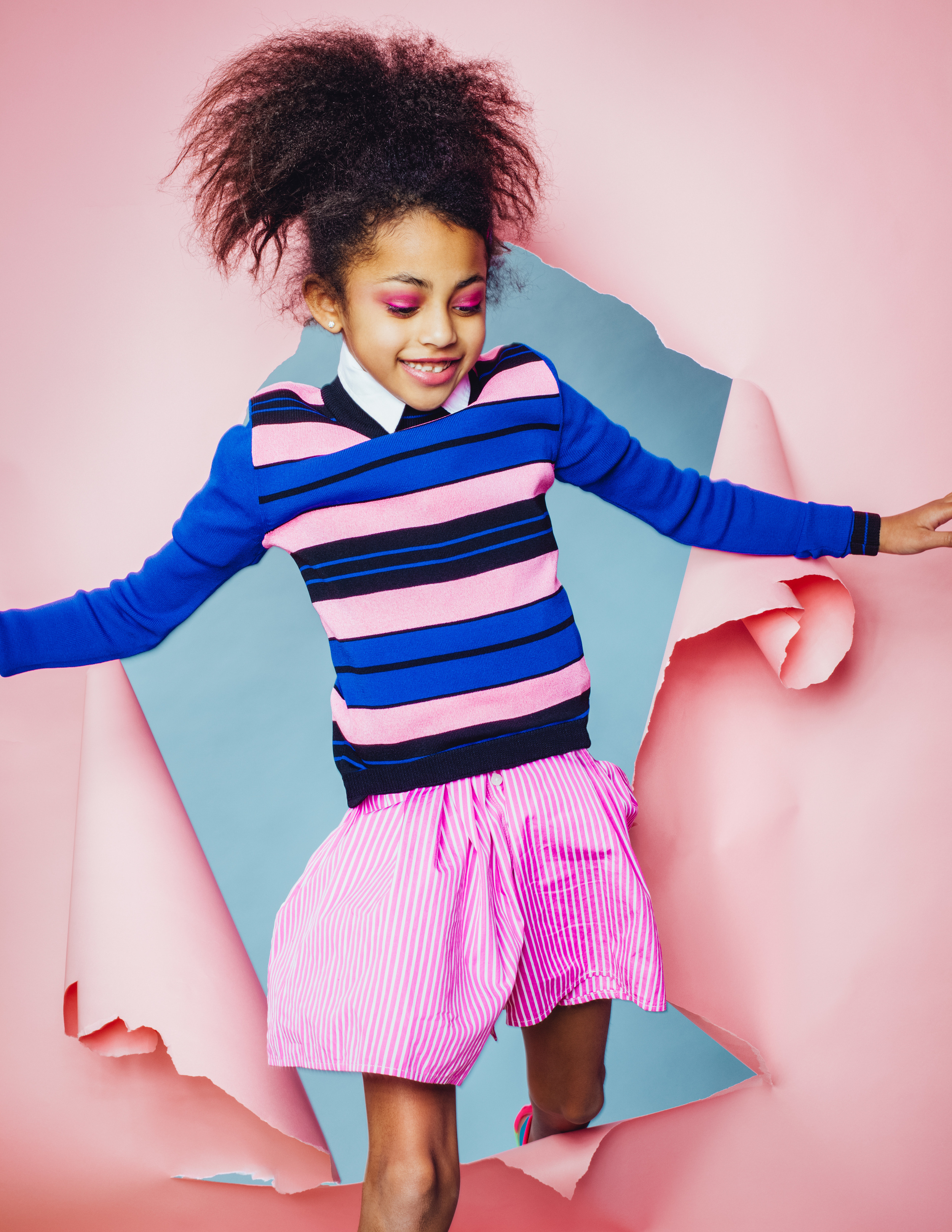 Paper Chase Kids Editorial by Mark Binks