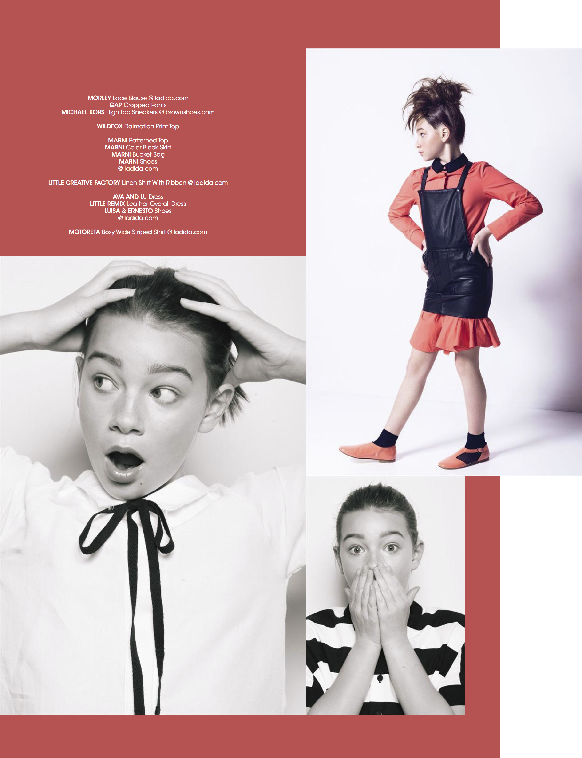 Being Coco - Kids Fashion Editorial by Mark Binks