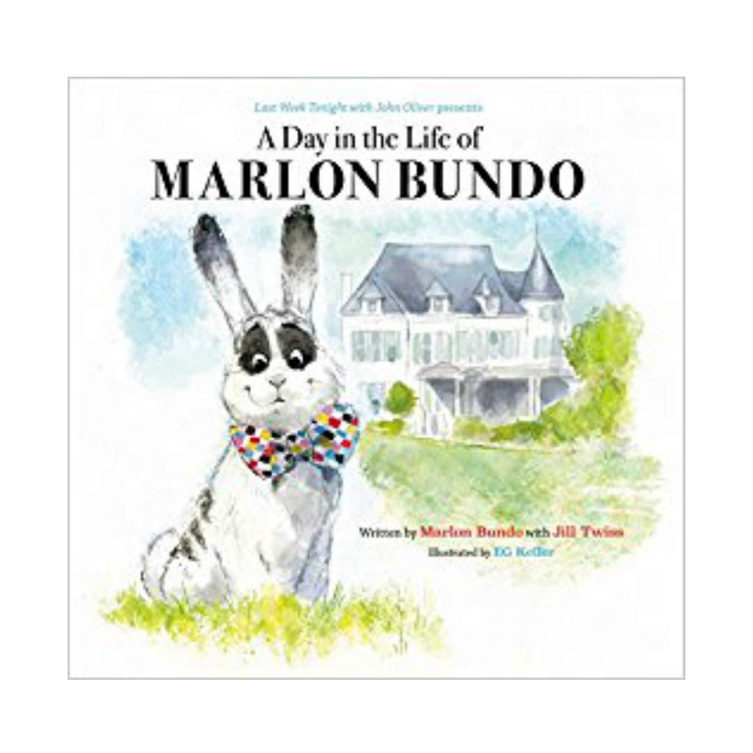 MARLON BUNDO   You may be surprised to hear that this book is NOT a parody! It's truly a delightful story of loving who you love and being the change you need to see!