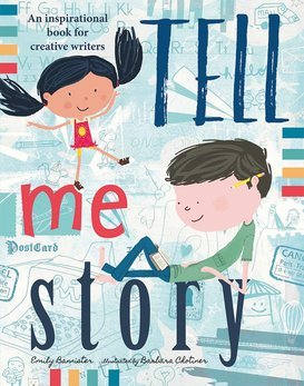 Tell Me a Story*   This books is great for all age groups! We use it as a prompt to get creative juices going to create your OWN story!