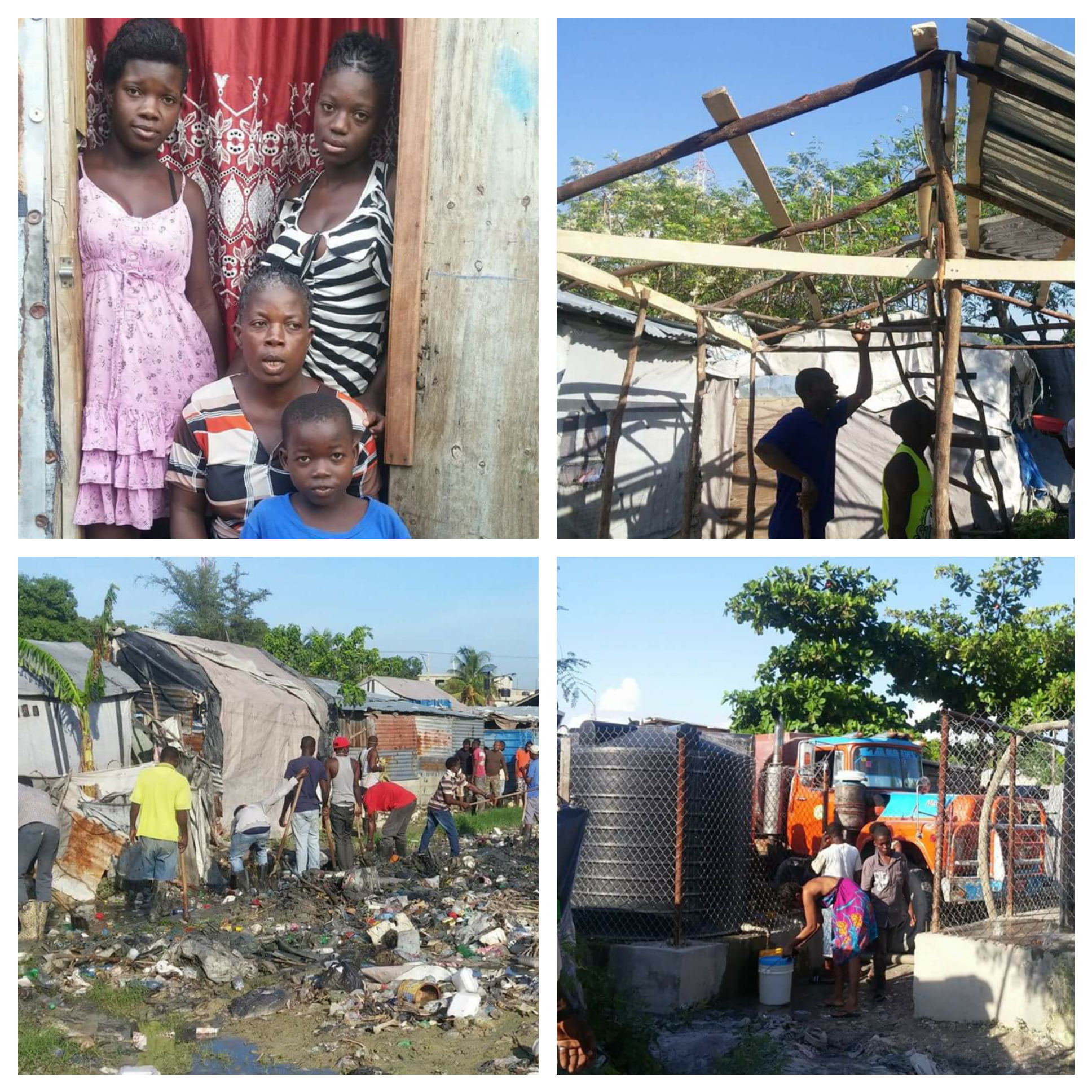 Hurricane Relief Funds   already at work - shelter, water, disease prevention!