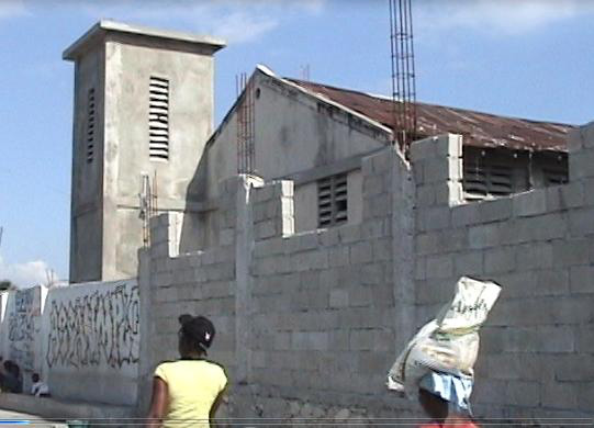 Church building pre-earthquake