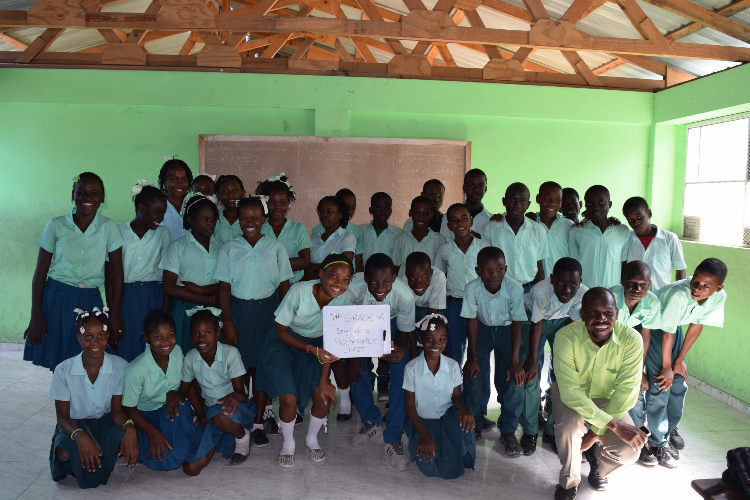 Most kids in Haiti drop out before 6th Grade. Help these students succeed!