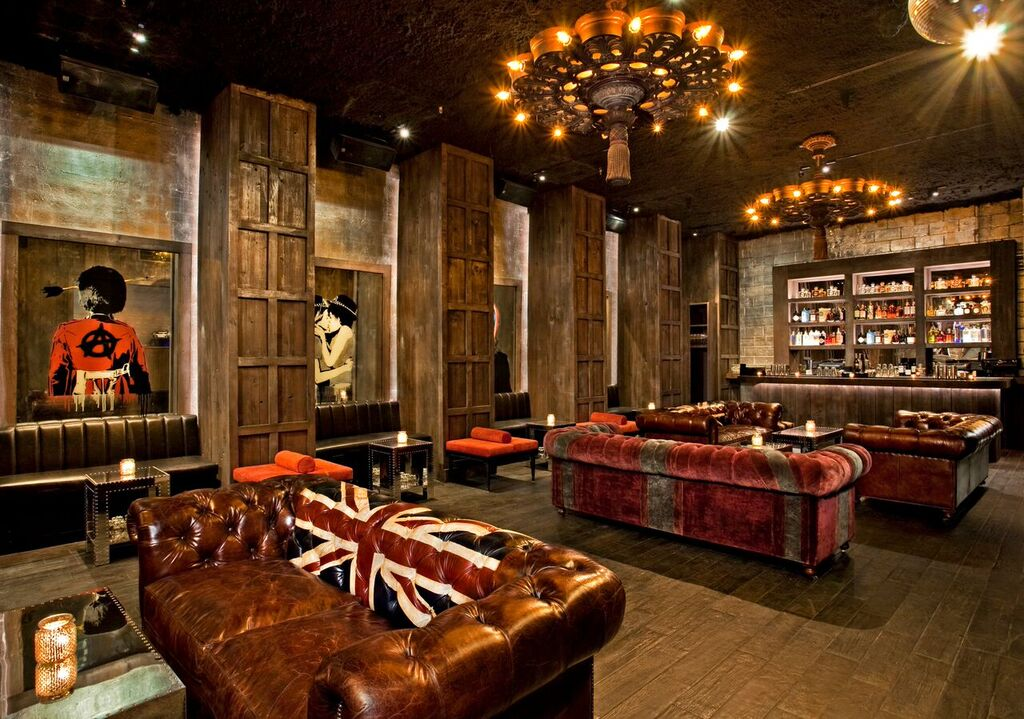 Living Room Bar And Terrace New York City