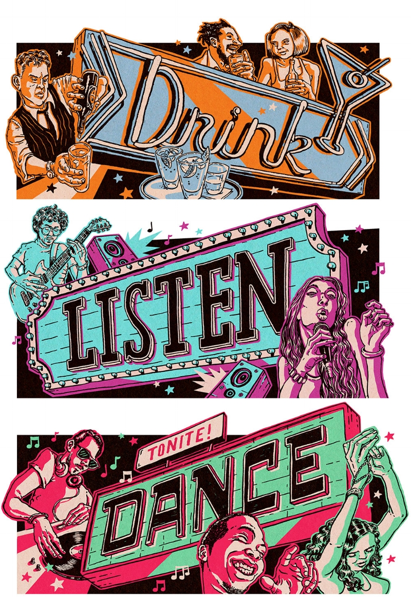 Drink! Listen! Dance!  LOS ANGELES MAGAZINE