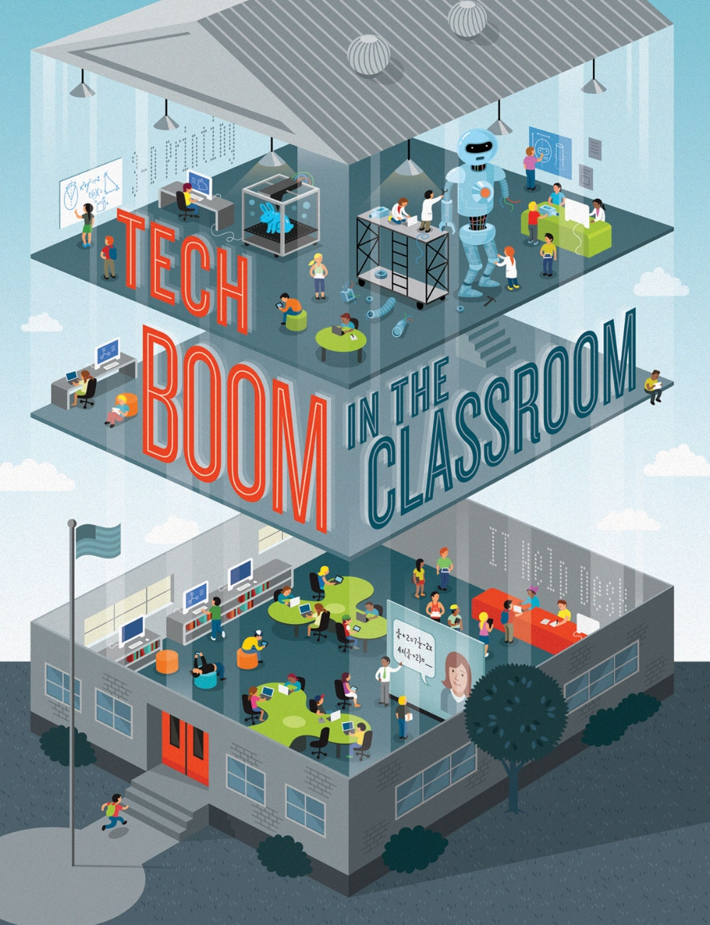 Tech Boom in the Classroom   CINCINNATI MAGAZINE