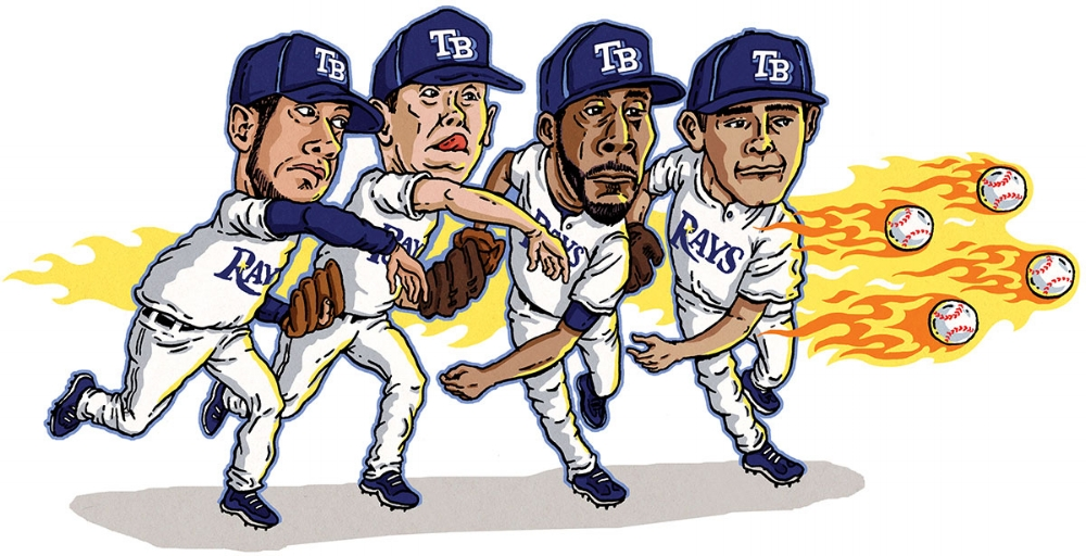 Tampa's Pitchers   SPORTS ILLUSTRATED FOR KIDS