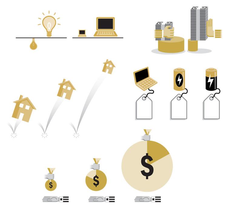 Investing Mini-graphics   MONEY MAGAZINE