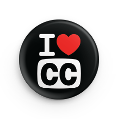 """Filmmakers at Seattle Web Fest who've captioned their work will receive an """"I Love CC"""" button to mark their efforts."""