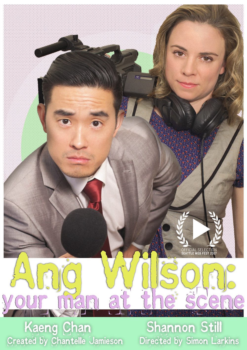 This mockumentary follows hopeful reporter, Ang Wilson, on his quest to make it in the freelance news world. With his trusty camerawoman, Mandy in tow, Ang is out to prove that being informed isn't everything.