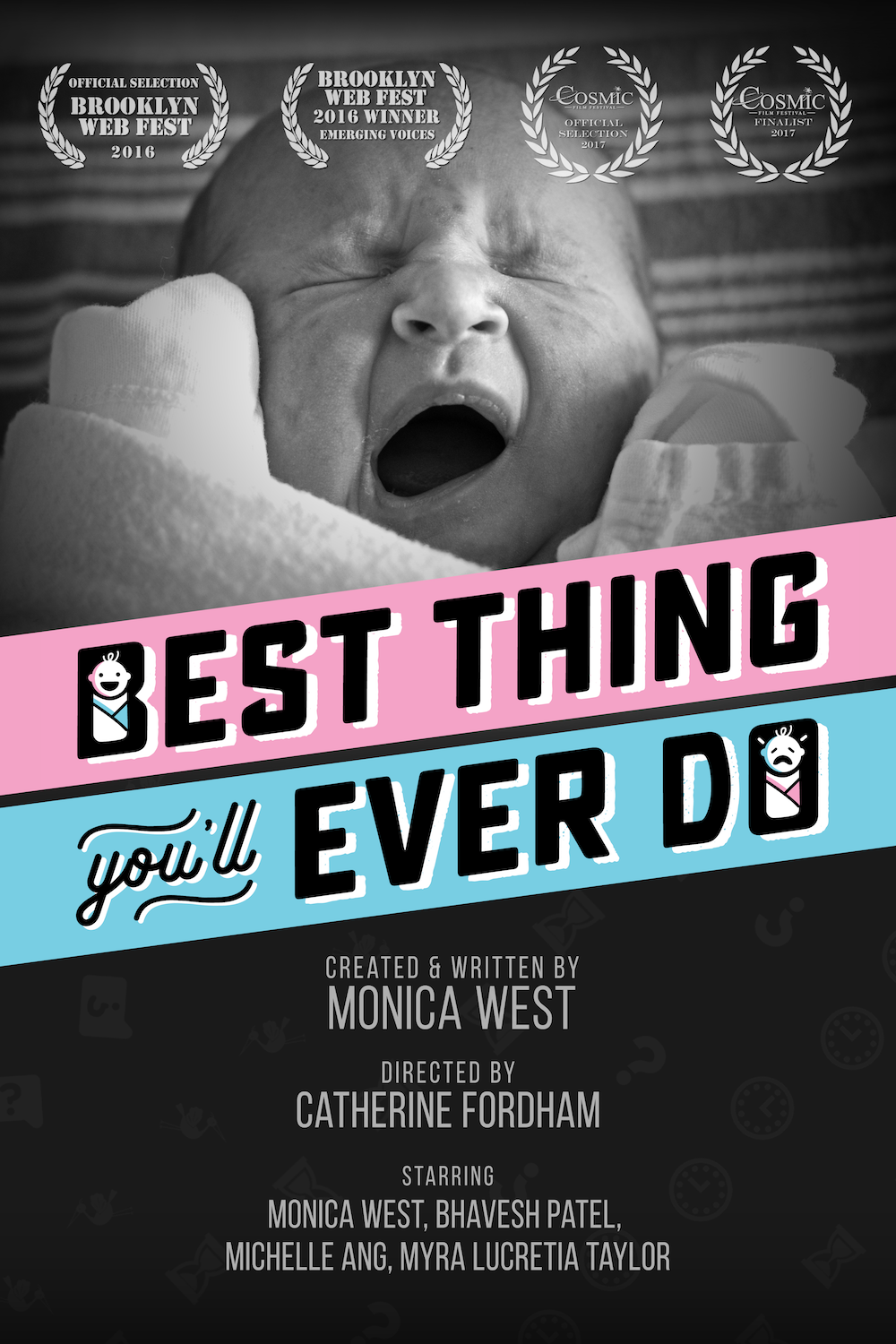 A Silicon Valley entrepreneur comes face-to-face with the baby question as she encounters strangers' and loved ones' advice about having a baby (or not). Winner of the New Hollywood Emerging Voices Award 2016