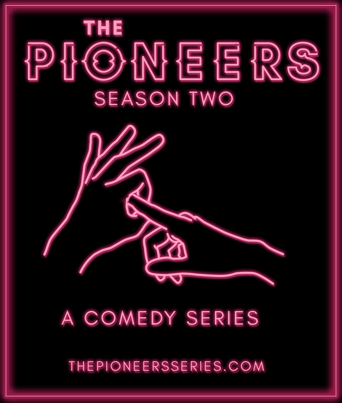 """""""The Pioneers"""" is a comedy about a couple who decide to open up their relationship before they tie the knot, but as they plan the wedding and try to get lucky, they find themselves in increasingly bizarre situations with no casual sex in sight."""