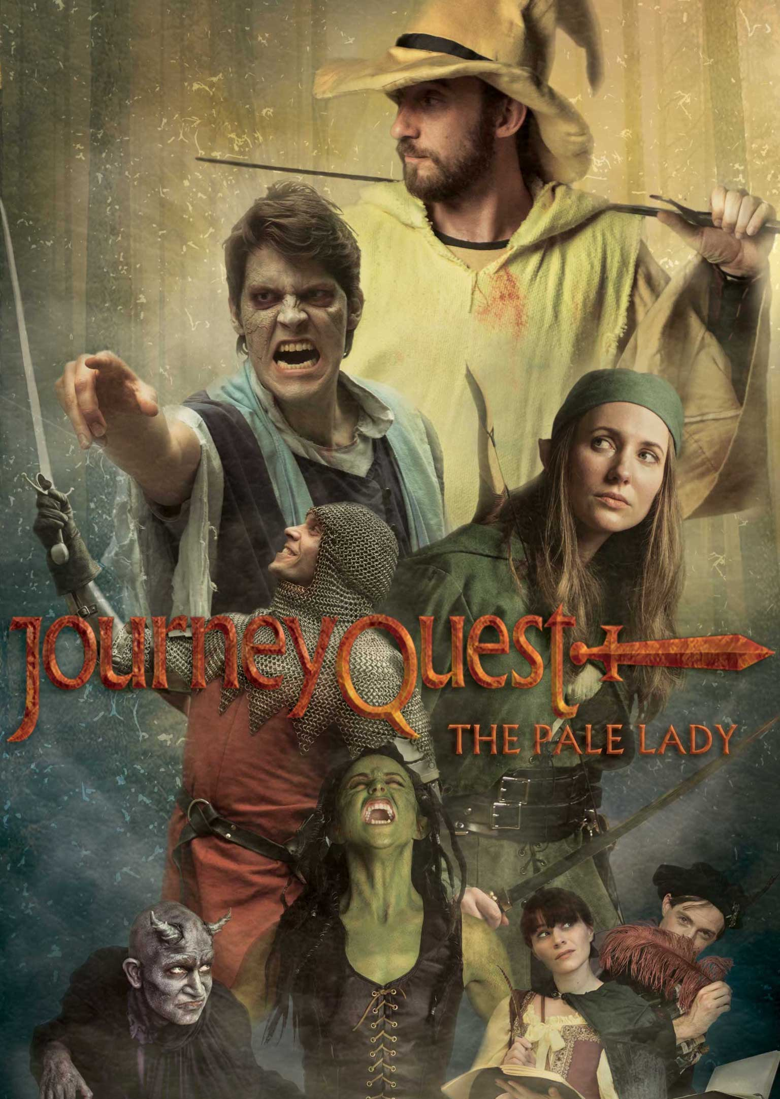 JourneyQuest Season 3 brings the ongoing story of Perf, stuck with the Sword of fighting, a quest problem that he never asked for, and two competing bards (Fran Kranz, Emilie Rommel Shimkus) battle for ownership of the world's most important epic.