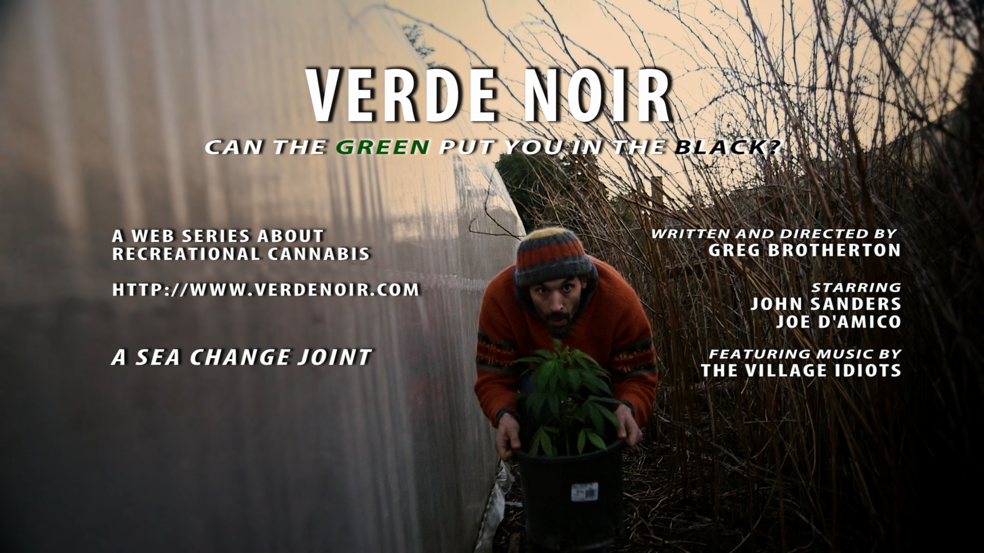 Verde Noir mixes documentary and narrative techniques to tell the story of recreational cannabis in Washington through the efforts of two black market growers to go legal with I-502. We pull back the curtain on legalized marijuana.